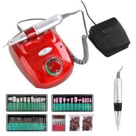 Beautylush Frézka na nehty DM208 65W Červená
