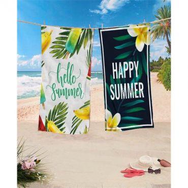 Plážová osuška 170x90cm Hello Summer