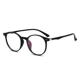 Nedioptrické brýle Superior Oval TR90 - Černé