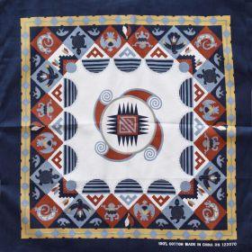 Bavlněný šátek Aztécký motiv