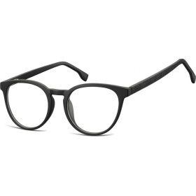 Ovalné brýle bez dioptrii Discussions - černé