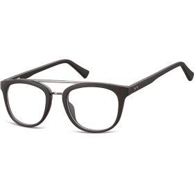 Ovalné brýle bez dioptrii Reverend - černé