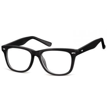 Dětské brýle bez dioptrii Wayfarer - černé