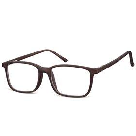 Obdelníkové brýle bez dioptrii Prudent - černé