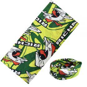 Multifunkční šatka I am Angry - Zelená 48x25cm