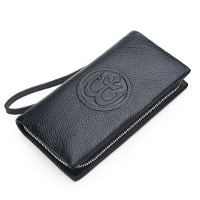 Pánská kožená peněženka Anchorum Černá