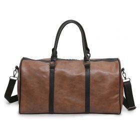 Sportovní a příruční taška Partner- Hnědá