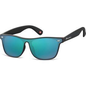 Montana sluneční brýle Wayfarer zelené zrcadlové MS47F
