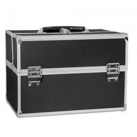 BMD kosmetický kufr rozkládací XL Černý