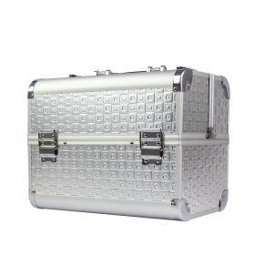 BMD kosmetický kufřík Denimio Stříbrný