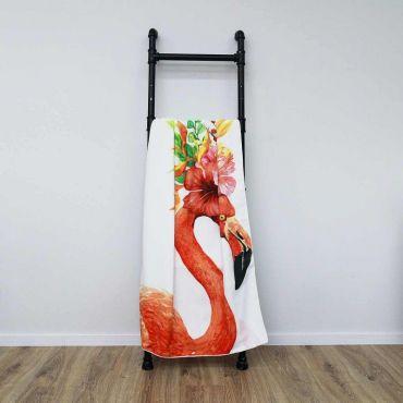 Plážová osuška 170x90cm Lets Flamingle