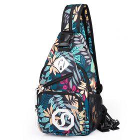 Dámská rossbody taška a batůžek Flowers
