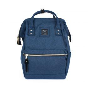 Himawari městský batoh s USB NR7 Modrý