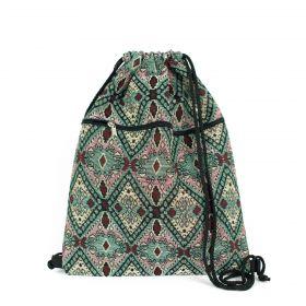 Eastern carpet stahovací batoh Etno zelený