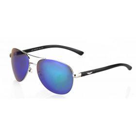 Deep sluneční brýle pilotky Modro-zelené zrcadlovky DA7311