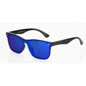 Revers Retro sluneční brýle Modré zrcadlovky RV1638