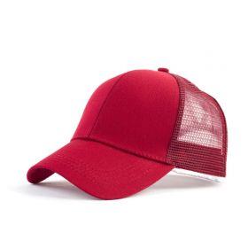 Dámská kšiltovka na culík Červená