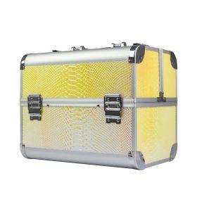 BMD kosmetický kufřík Snake Žlutý