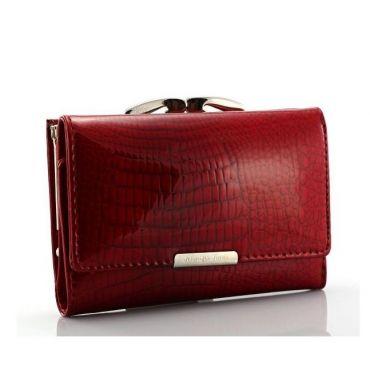 Jennifer dámská kožená peněženka Červená