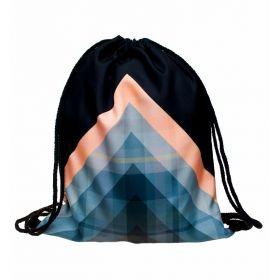 Plátěný vak s 3D potiskem Triangle
