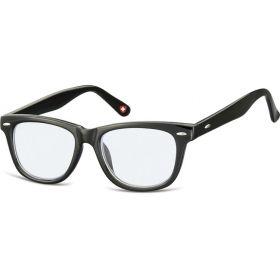 Dětské brýle blokující modré světlo Wayfarer Černé
