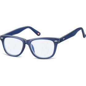 Dětské brýle blokující modré světlo Wayfarer Modré