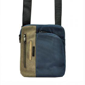 Pierre Cardin pánská taška přes rameno Afrim Modrá