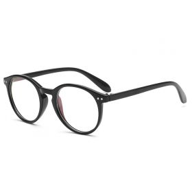 Nedioptrické brýle Oval Cute Černé