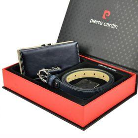 Pierre Cardin dámská dárková sada LEONA Blue