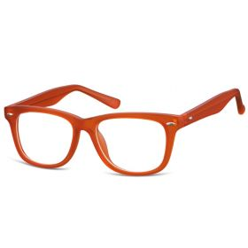 Dětské brýle bez dioptrii Wayfarer - oranžové