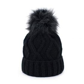 ArtOfPolo dámská zimní čepice Karol Černá