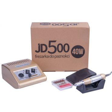 JD500 Profi fréza bruska na nehty 40W Zlatá