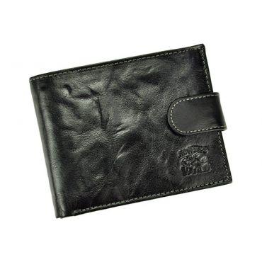 Wild pánská kožená peněženka TEAM Černá