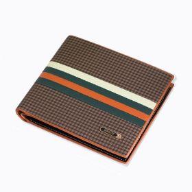 Bogesi pánská peněženka Carved lines - Hnědá