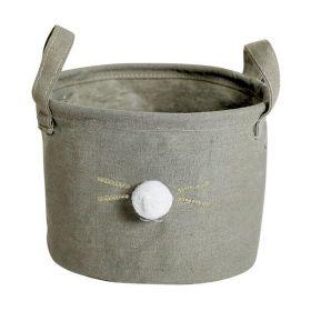 Textilní koš na drobné předměty Králiček šedý