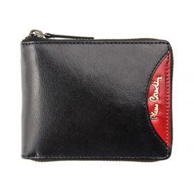 Pierre Cardin pánská kožená peněženka TILAK29 Červená