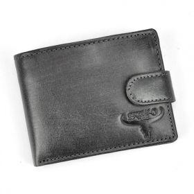BUFFALO pánská kožená peněženka Cameron Černá