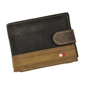 Wild pánská kožená peněženka Article Hnědá