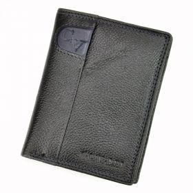 Cavaldi pánská kožená peněženka GV Černá