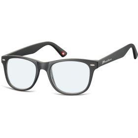 Dioptrické brýle na počítač Anti Blue MX67 černé