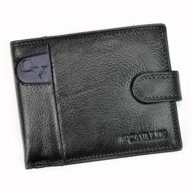 Cavaldi pánská kožená peněženka GVB Černá