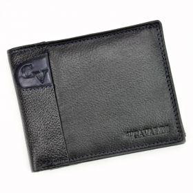 Cavaldi pánská kožená peněženka GVM Černá