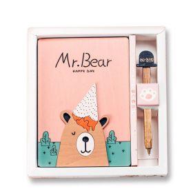 Zápisník deník  MR. Bear - Happy day