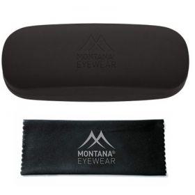 Montana pevné kovové pouzdro na brýle + mikroutěrka