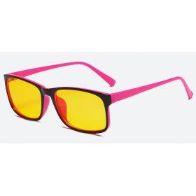Brýle s filtrem modrého světla bez dioptrii KWE16- Růžové