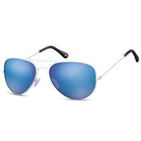 Montana sluneční brýle pilotky Modré zrcadlovky MS96E