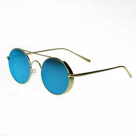 COTE sluneční brýle Retro Lenonky Modré zrcadlovky