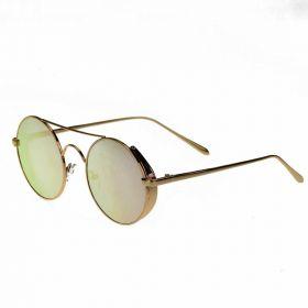COTE sluneční brýle Retro Lenonky Zlaté zrcadlovky