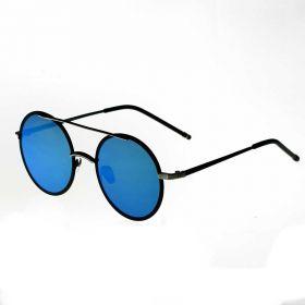 COTE Okrouhlé sluneční brýle Leon Modré zrcadlovky