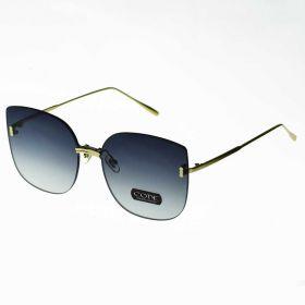 COTE Exclusive dámské sluneční brýle Oversize - kouřové